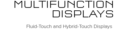 Multifunktionsdisplayer | Raymarine - A Brand by FLIR