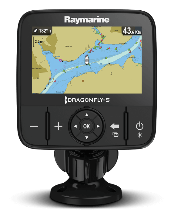 Buy Direct - Dragonfly 5M and 5DVS | Raymarine - A Brand by FLIR