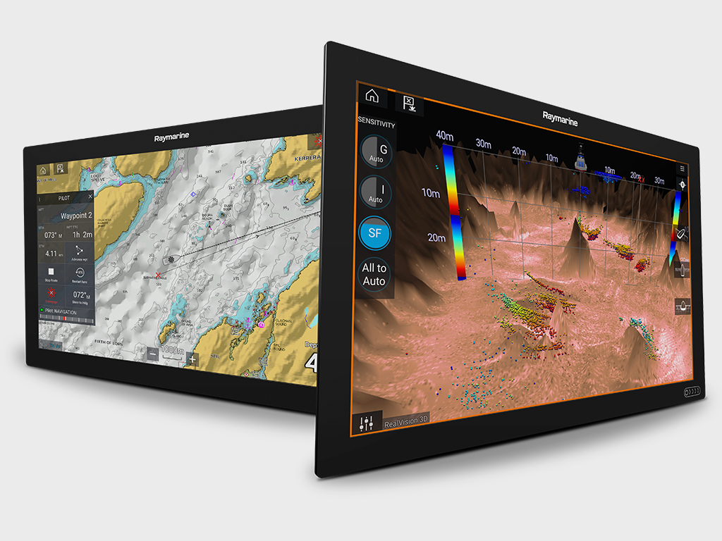 Axiom XL – 22- och 24-tumsdisplayer | Raymarine - A Brand by FLIR