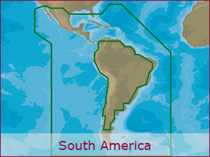 C-MAP Cartography - S.America Bundle | Raymarine