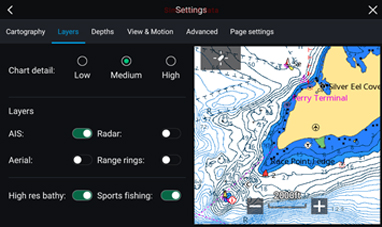 LightHouse 3.2 – C-MAP Active Captain | Raymarine by FLIR