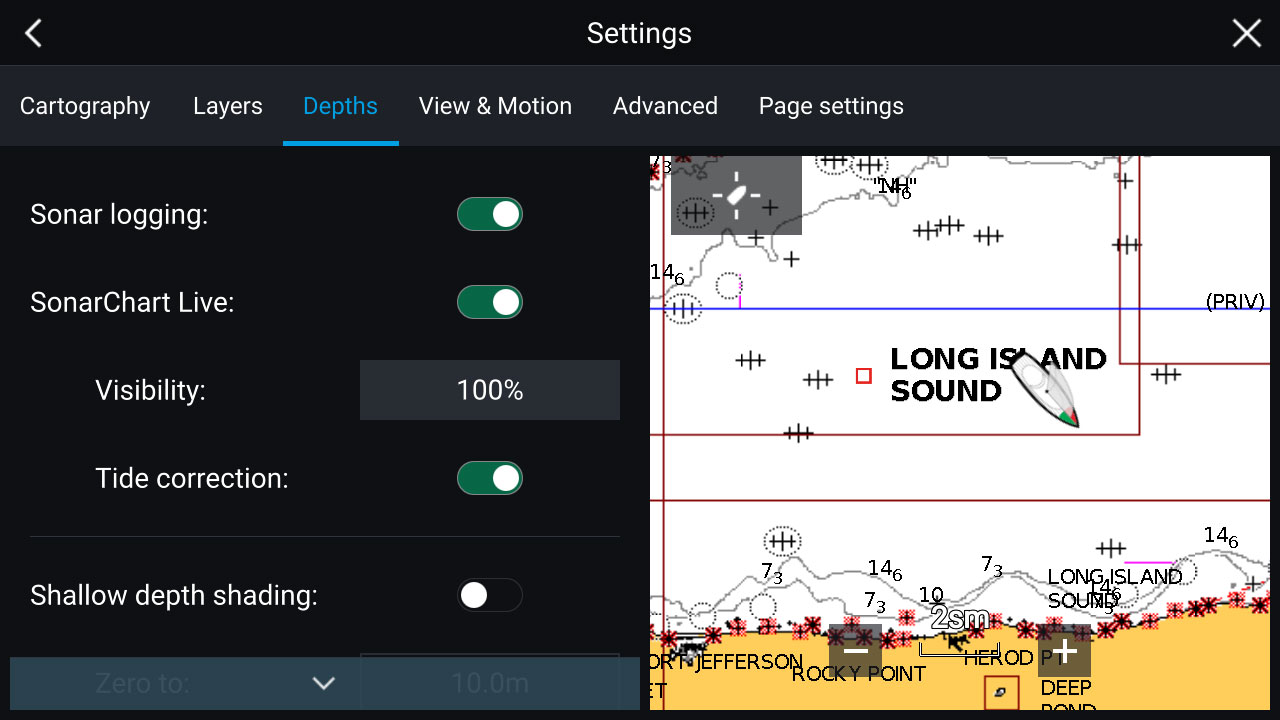 LightHouse 3.2 – Navionics Sonar Logging | Raymarine by FLIR