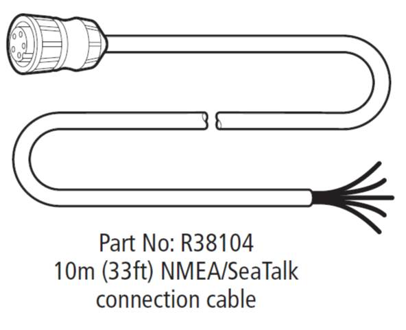 R38104%20RS125%20Cable Raymarine Nmea Wiring Diagram on patch cable, b256 transducer, c120 cable for radar, fluxgate compass, gps antenna, seatalk hs,